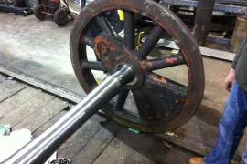 Bellerophon - Wheels with new axle