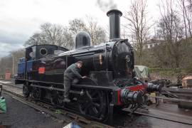 The 'Coal tank' receives lots of TLC before the big event