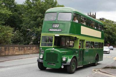Leeds City Transport. Built 1962, Daimler CGV6