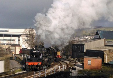 A spirited departure from Keighley - Robert Batty
