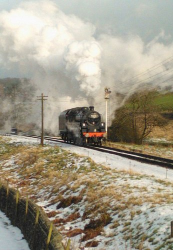 Starting the day with a light engine run to Oxenhope - Robert Batty
