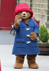 "Paddington says ""Hello!"" .."