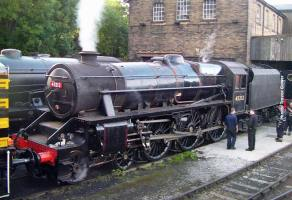 Safely back in Haworth Yard